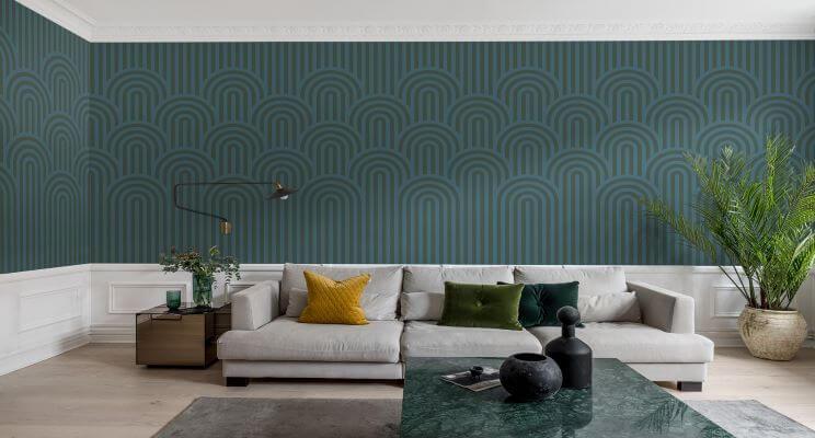 10 Expert Tips For Choosing The Right, Wallpaper For Living Rooms