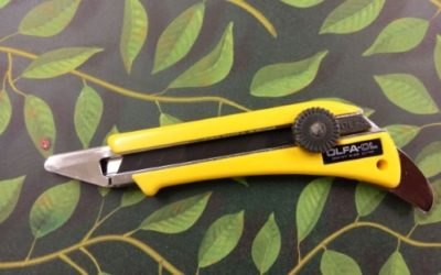 Why OLFA Knives are Essential to My Professional Toolkit